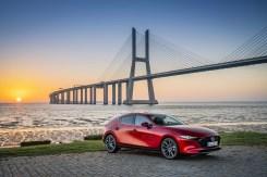 Mit seinen klaren Linien und dem mutigen Design soll der neue Mazda3 Kunden ansprechen, die aus der Masse hervorstechen möchten. © Mazda