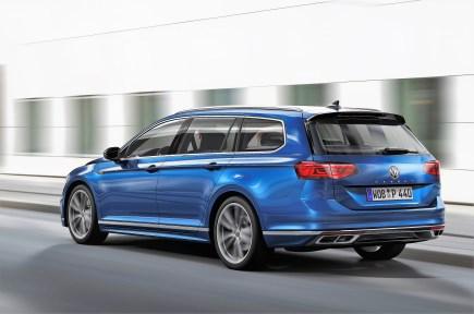 Schick: der Passat Variant R-Line. © Volkswagen
