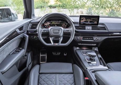 Das Cockpit des Audi Q5. © Audi