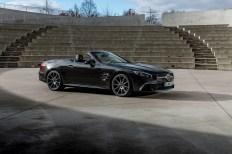 """Star-Auftritt: der Mercedes SL Roadster als """"Grand Edition"""". © Daimler"""
