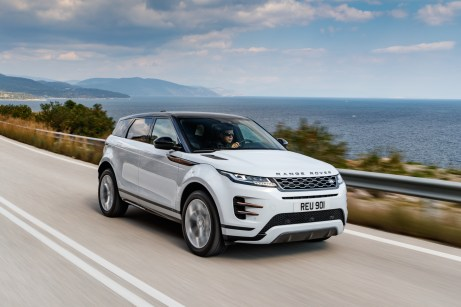 Am 6. April erfolgt der Markstart für die zweite Generation des Range Rover Evoque. Das neue Design-SUV ist ab 37.350 Euro zu haben. © Range Rover
