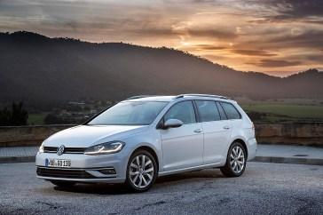 Fährt jetzt auch mit Erdgas (CNG): Der Volkswagen Golf Variant. © Volkswagen