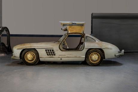 Das Auto wurde 1954 nach Miami ausgeliefert und war lediglich zehn Jahre lang zugelassen. © Mercedes-Benz