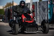 Bis zu 75.000 Individualisierungs-Möglichkeiten bietet Can-Am nach eigenen Angaben für den Ryker, so dass jedes Fahrzeug unterschiedlich vorfahren kann. © Can-Am