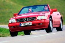 Mercedes-Benz SL der Baureihe R 129, modellgepflegte Version ab 1995. © Mercedes-Benz