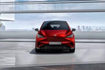 Neben dem zweisitzigen und schmalen City-Car Minimó stellen die Spanier mit dem el-Born ihr erstes vollwertiges Elektroauto vor. Foto: Auto-Medienportal.Net/Seat