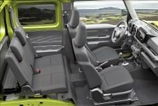 Es geht knapp zu im Jimny - aber es reicht. Foto: Auto-Medienportal.Net/Suzuki