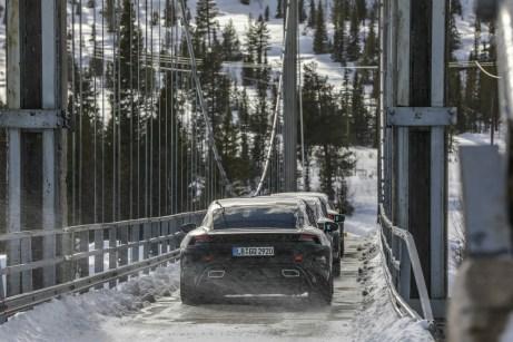 Porsche Taycan in Skandinavien.Foto: Auto-Medienportal.Net/Porsche