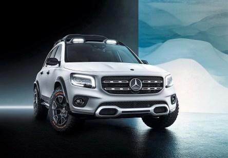 Concept Car Mercedes-Benz GLB. Foto: Auto-Medienportal.Net/Daimler