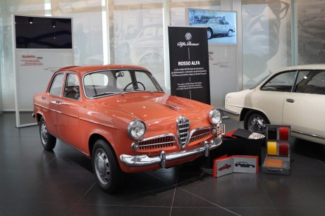 Der Urahn: die Giulietta der ersten Generation, hier ein Modell aus dem Jahr 1955. © Mirko Stepan / mid