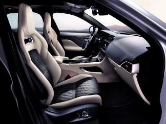Stilvoll, sportliches Ambiente im Innenraum © Jaguar