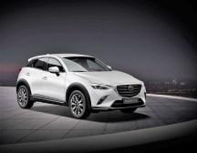 Der CX-3 Kangei ist zu Preisen ab 25 980 Euro als Skyactiv-G 121 und Skyactiv-G 150 erhältlich, wahlweise mit Automatikgetriebe. Foto: Auto-Medienportal.Net/Mazda