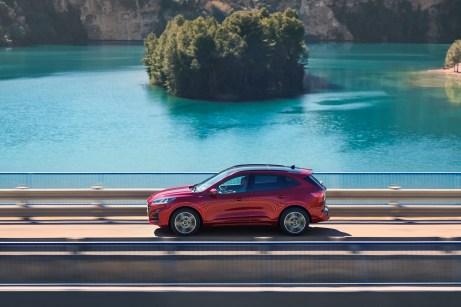 Im Anmarsch: Die Markteinführung der neuen Kuga-Generation ist laut Ford im Frühjahr 2020 geplant. © Ford