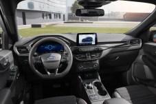 Modern, sportlich und vernetzt: das Cockpit des neuen Ford Kuga. © Ford