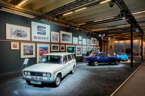 SEAT zeigt (von links) den 1430, den 1600 Especial und den 850 Sport Spider aus. ©Seat