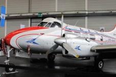 "In den Farben der LTU-classic – die de Havilland D.H. 104 ""Dove"""