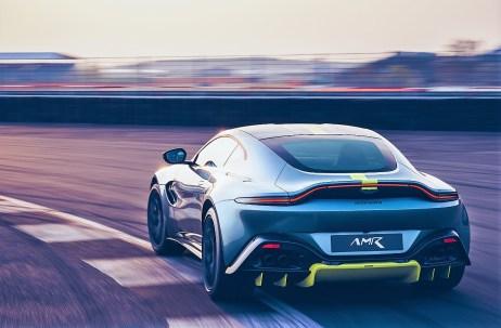 Auf der Rennpiste zu Hause: der Aston Martin Vantage AMR. © Aston Martin