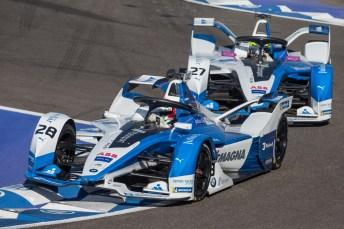 Elektro-Hype: Kaum ein Hersteller kommt derzeit an der Formel E vorbei. Auch BMW mischt in der Elektro-Rennserie mit. © BMW