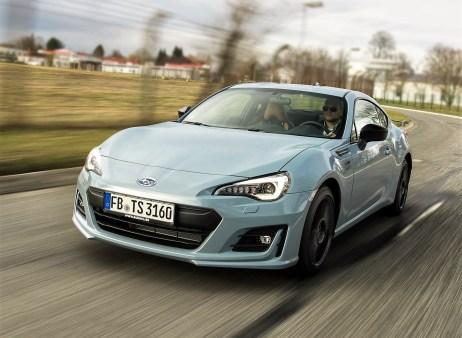 Der Sportwagen ist ab sofort in der Tim Schrick Edition erhältlich. Die limitierte Auflage, die zu Preisen ab 36.395 Euro erhältlich ist, kombiniert eine zusätzliche Portion Sportlichkeit mit erhöhtem Komfort. © Subaru