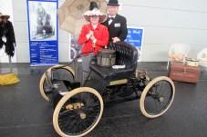 Fahrfähiger Nachbau des Ford Quadricycle von 1896 der Ford-Werke Köln