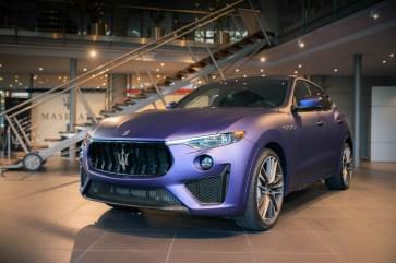 Vom Maserati Levante Trofeo in der Lounge Edition gibt es nur 50 Stück. Der Preis: 175.000 Euro. © Maserati