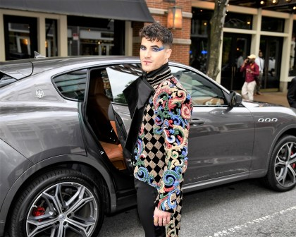 Zur der Veranstaltung kamen gleichermaßen bekannte Stars und Branchengrößen wie auch junge Kreative: Im Bild Darren Chriss. © Maserati