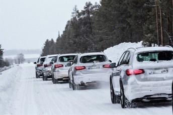 Mercedes-Benz GLC F-Cell bei der Wintererprobung. Foto: Auto-Medienportal.Net/Daimler