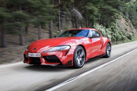 Sportlicher Auftritt: Der Toyota GR Supra will die Herzen der Sportwagen-Fans erobern. © Toyota