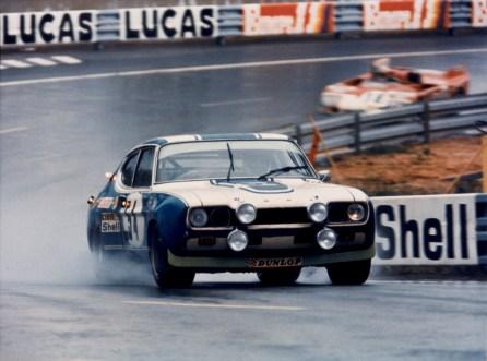 Ford Capri RS, 24h Rennen von Le Mans, 1972, 10.-11. Juni 1972, Gerry Birrell / C. Bourgoignie; Foto: Ford