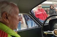 Rennfahrer-Legende Eberhard Mahle ist einer der erfolgreichsten deutschen Rennfahrer, zu seinen größten Erfolgen zählen Titel wie Deutscher GT-Meister 1957, Deutscher Bergmeister 1959 und Europa-Bergmeister 1966. © Jutta Bernhard / mid
