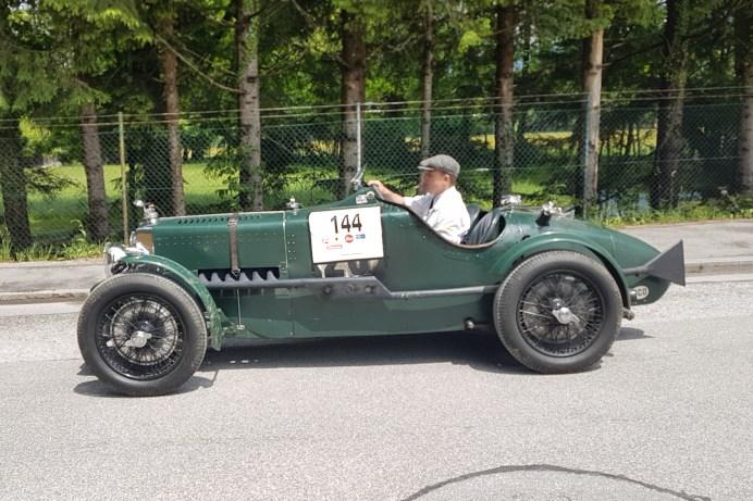 Was für ein Schmuckstück: MG Kompressor MMM von 1933. Der Pilot ist Chris Dravec. Damals mit 80 PS schon hoch motorisiert. © Jutta Bernhard / mid