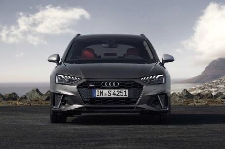 Die Frontansicht hat deulich an Prägnanz gewonnen. © Audi