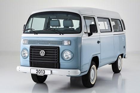 Der brasilianische Bulli: Volkswagen Kombi Last Edition (2013). Foto: Auto-Medienportal.Net/Autostadt