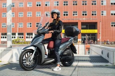 Passt mit seinen kompakten Ausmaßen perfekt in die Stadt: der Kymco New People S 125i ABS. © Kymco
