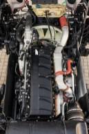 Schlankes Triebwerk: Der D15-Sechsylinder spart bei vergleichbarer Nennleistung 230 Kilo Eigengewicht, die der Nutzlast zugute kommen. © MAN