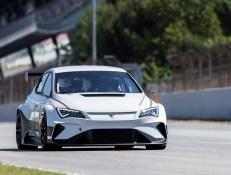 Mit dem e-Racer will die spanische Sportwagenmarke Cupra eine Vorreiterrolle im Rennsport für Elektrofahrzeuge einnehmen. © Cupra
