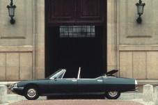 Ein Auto wie von einem anderen Stern, der Citroen SM Presidentielle, Gesamtlänge 5,60 Meter. © Citroen