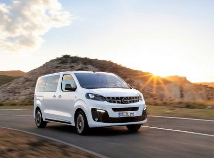 Der Opel Zafira Life ist in drei Längen zu kaufen. © Opel