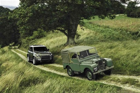 Land Rover Defender. © Land Rover