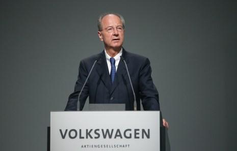 Hans Dieter Pötsch © Volkswagen