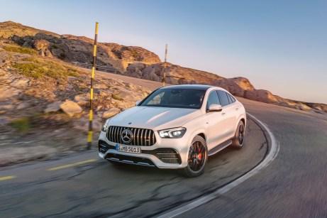 """Das GLE 53 4MATIC+ Coupé soll laut Mercedes ein """"genussvoll-dynamisches Fahrerlebnis"""" bieten. © Daimler"""