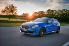 Auch der 1er von BMW rollt jetzt mit Frontantrieb an. © BMW
