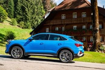 """Um 29 Millimeter ist der Sportback flacher als der """"Original""""-Q3, um 16 Millimeter länger und um sechs Millimeter schmaler. © Audi"""