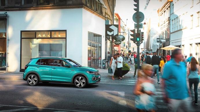 Der VW T-Cross: ein perfektes Stadtauto. Foto: VW