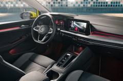 Das neue Golf-Cockpit ist digital, hochmodern und kommt fast ohne Knöpfe aus. © VW