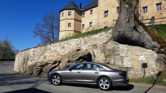 Der A8 ist elegant und modern, aber nicht modernistisch, fast sogar ein bisschen konservativ. © Ulrich Frank