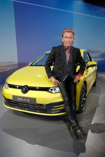Mit von der Partie bei der Premiere des VW Golf in Wolfsburg: Peter Maffay. © VW