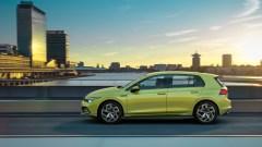 Die Silhouette des neuen Golf 8. © VW