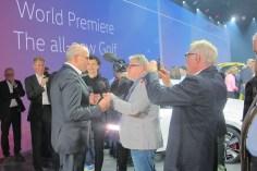 Werner Wendler aus Hof, Inhaber von wesat-tv, interviewte für die Deutsche Welle