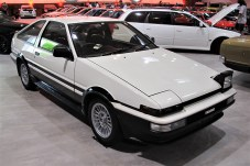 Der Sprinter Trueno AE86 mit Frontmotor und Hinterachsantrieb hatte besondere Drift-Qualitäten.